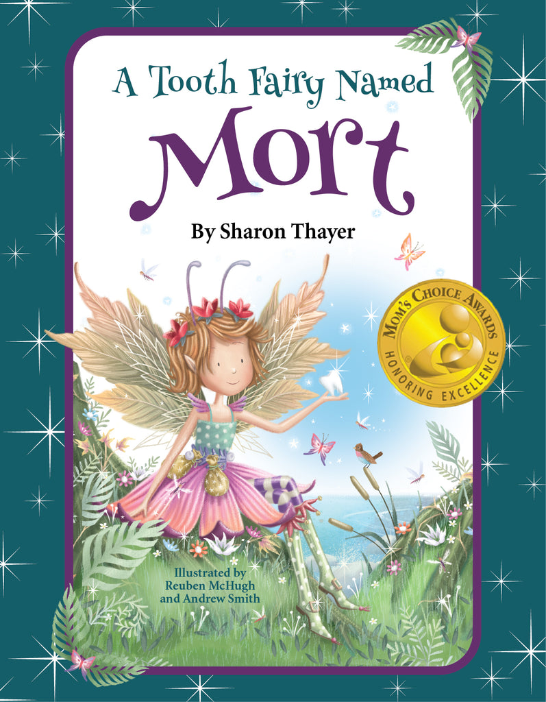 "Wholesale 1 case (24) ""A Tooth Fairy Named Mort"" - Hardcover"