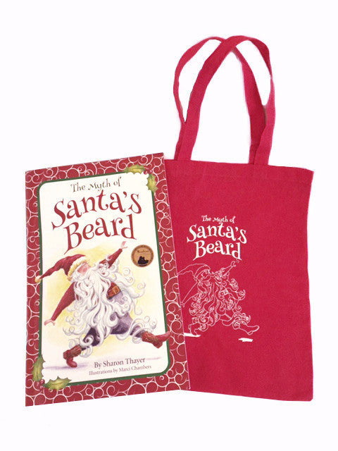 Santa's Beard big book with carry bag, a Christmas story for kids.