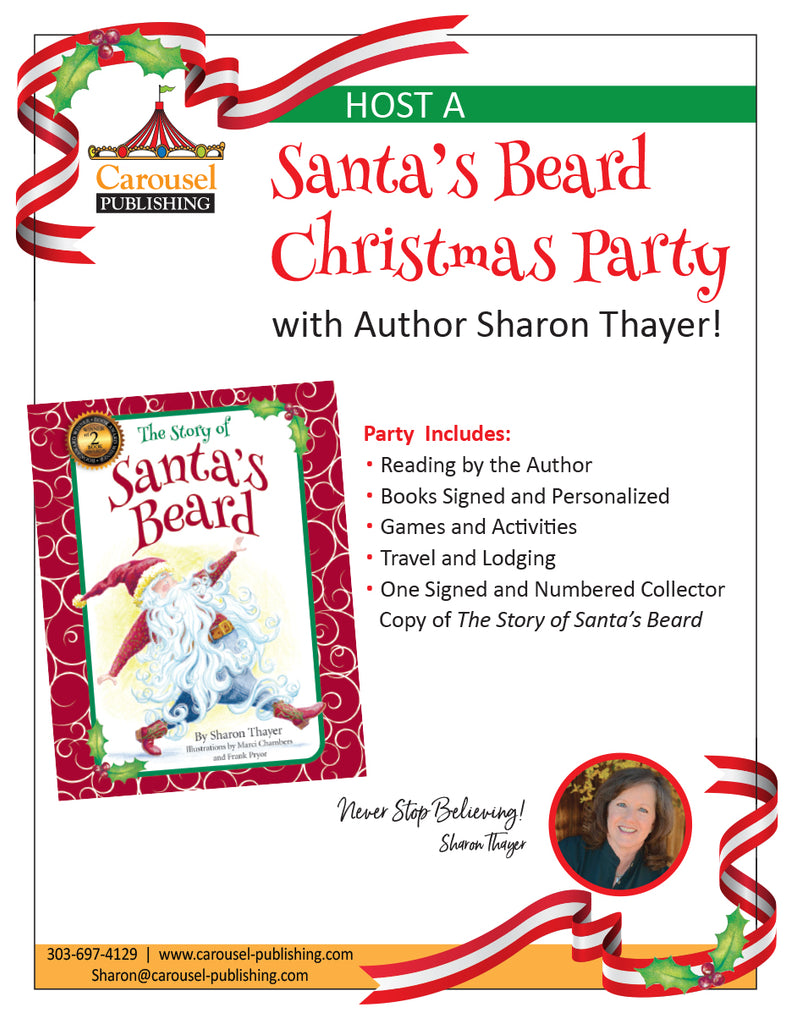 A Santa's Beard Christmas Party!
