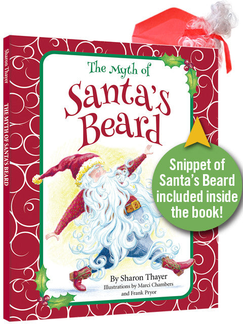 Santa's Beard collectible, signed,1st edition by Sharon Thayer