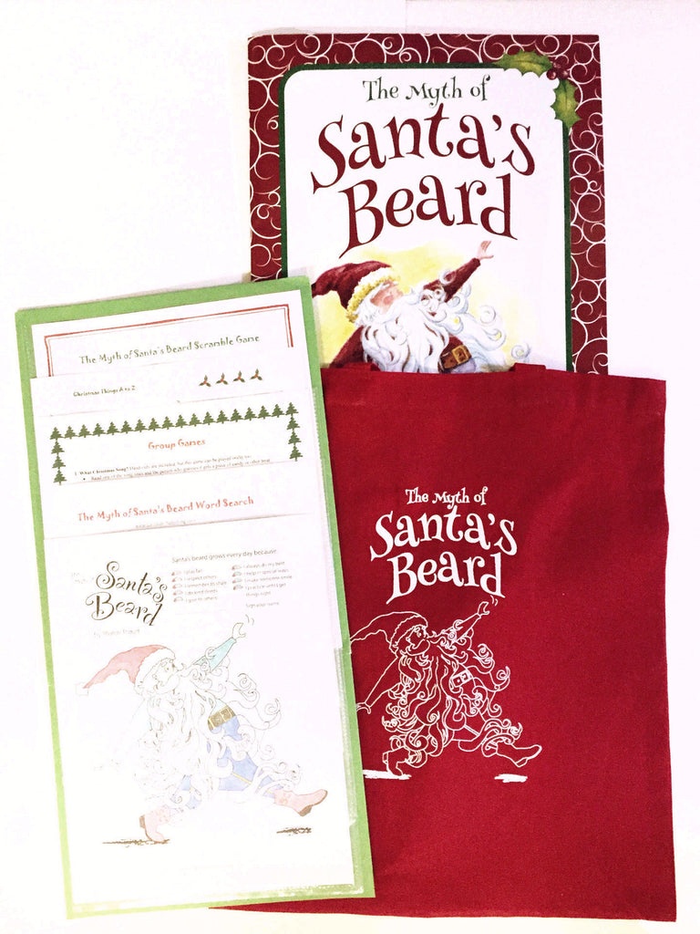 Santa's Beard big book, a Christmas story for group events.