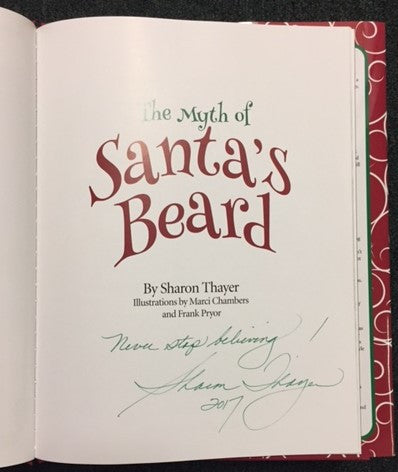 Santa's Beard signed by author copy by Sharon Thayer