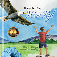 "Wholesale  1 Case (22) ""If You Tell Me, I Can Fly!"" - Hardcover (12 Female + 10 Male )"