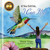 """If You Tell Me, I Can Fly!"" Hardcover (Female) Quantity prices for parties & events: 18 books:"