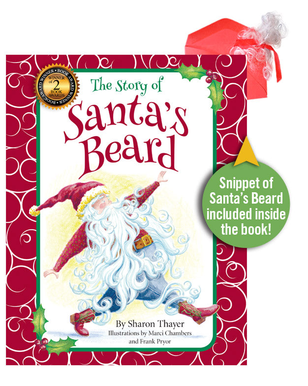 """The Story of Santa's Beard"" Hardcover"