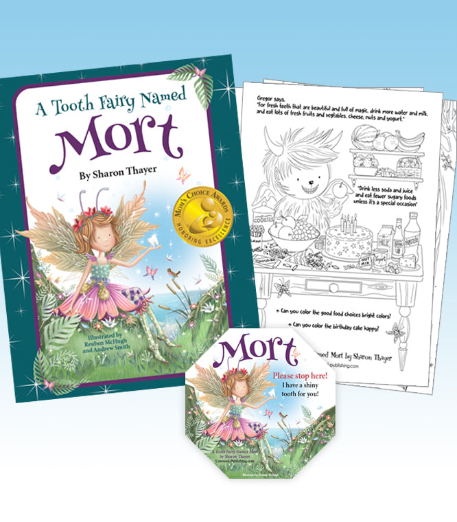 """A Tooth Fairy Named Mort"" Gift Package"