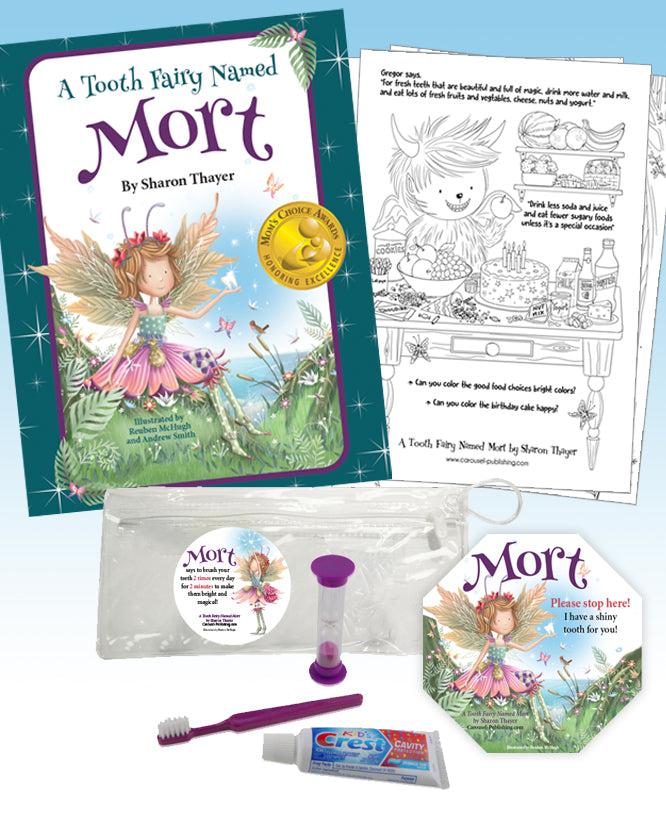 """A Tooth Fairy"" Gift Package with Dental Kit"