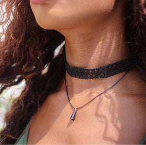 Multi layered choker #4
