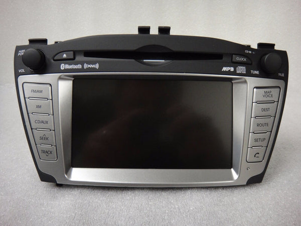10-13 Hyundai Tucson OEM GPS Navigation System Stereo MP3 CD Player XM