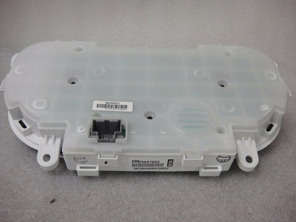 GM INSTRUMENT OEM CLUSTER SPEEDOMETER 25837053 507053A090230032