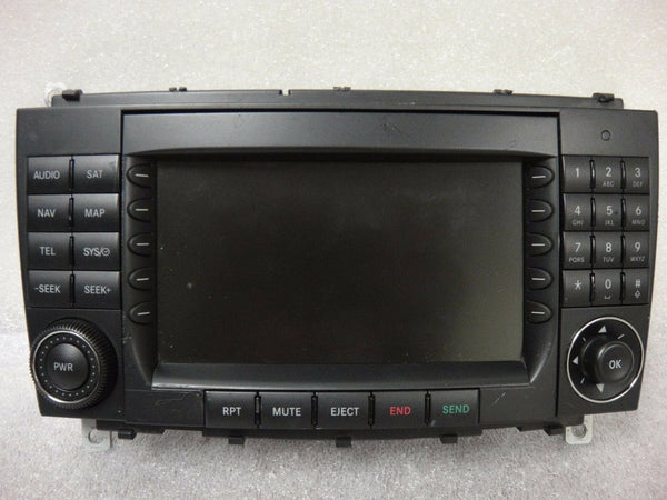 Mercedes Navigation GPS Radio CD A2098207889 Display Screen Unit EK