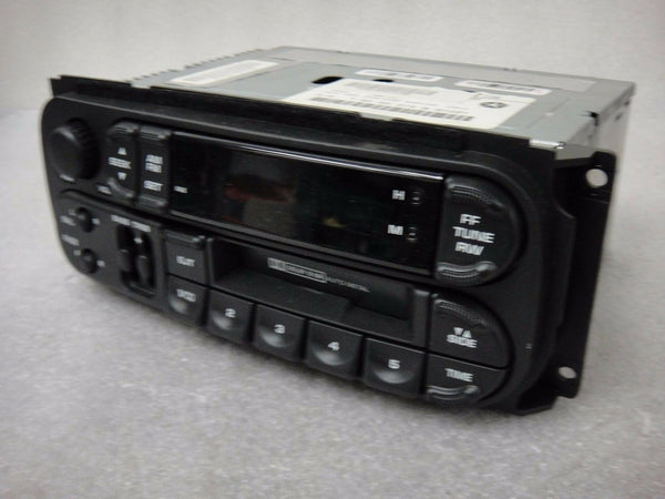 Chrysler Dodge Jeep 56038931AB Cassette OEM Radio Player