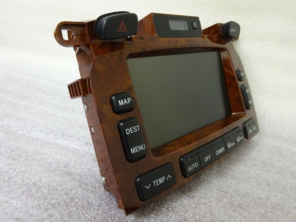 Toyota Highlander Navigation GPS System Display Screen Monitor 86111-48060 OEM