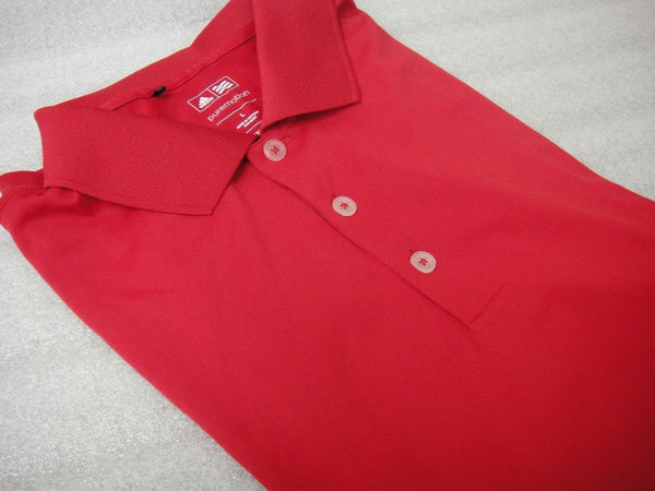 NWT Adidas Golf T-Shirt Shirt TW3022S4 Z85736 2014 L $50 RED NEW