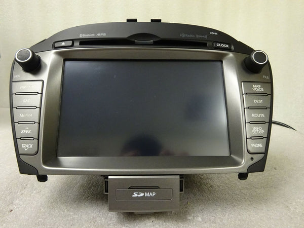 2014-2015 Hyundai Tucson Radio Navigation Stereo MP3 CD Player XM 96560-2S701TJN