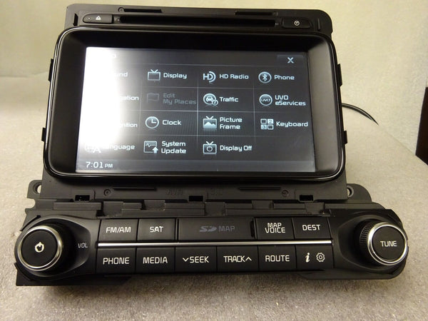 2014 2015 Kia Optima OEM GPS Navigation System CD XM Player