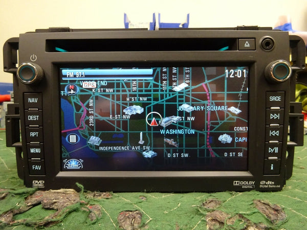 2012-2013 GM OEM NAVIGATION CD/DVD/SAT/USB/XM SATELLITE RADIO CHEVROLET GMC NAV