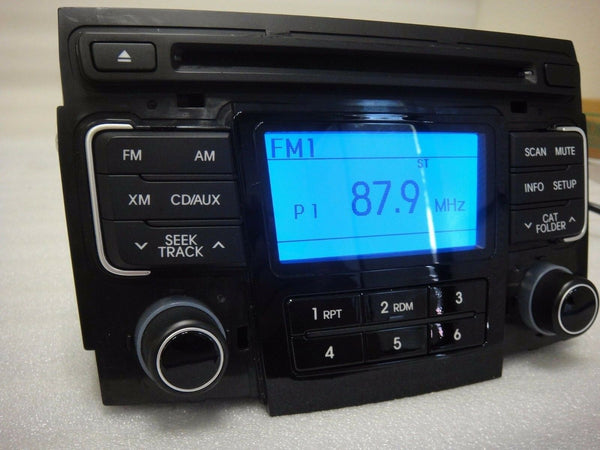 2011-2012 Hyundai Sonata CD MP3 SAT Player Radio OEM 96180-3Q000