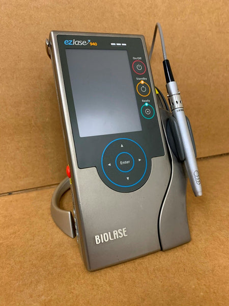 BIOLASE EZLASE 940 940nm 7w 7400001 DENTAL LASER + Power Supply