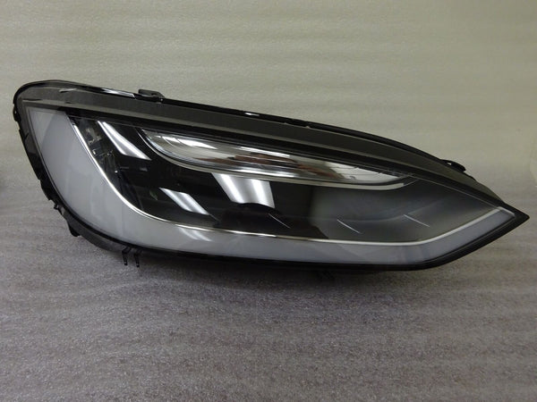 16-18 Tesla Model X Right LED Headlight Headlamp RH Complete With Module GRD C