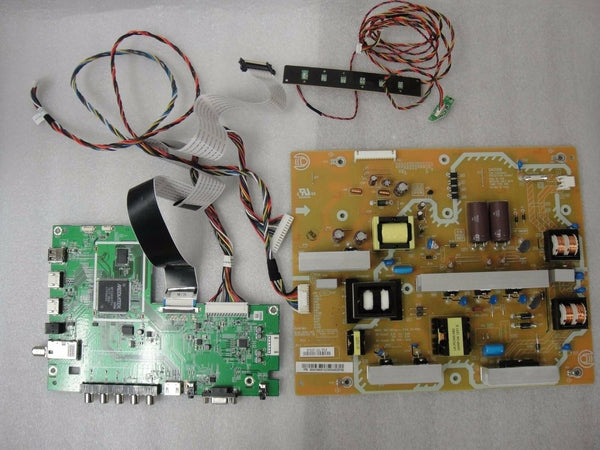 VIZIO E500AR REPAIR KIT POWER SUPPLY BOARD MAIN BOARD + WIRING