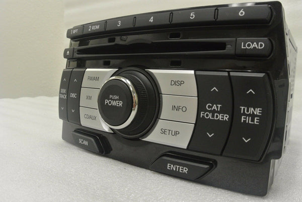 2009 2010 Hyundai Genesis OEM Radio CD Player MP3 Satellite OEM 6 DISC PLAYER