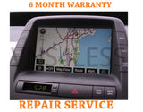2004-2009 Toyota Prius OEM GPS NAVIGATION SYSTEM UNIT REPAIR SERVICE ONLY!!!