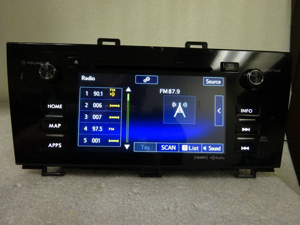 15 16 17 Subaru Legacy OUTBACK Starlink Navigation XM HD Radio OEM Touch Screen