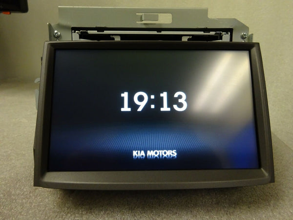 2012 2013 KIA SOUL OEM GPS NAVIGATION SYSTEM DISPLAY LCD SCREEN UNIT 96560-2K801