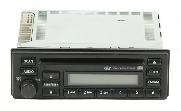 03-05 Kia Rio AM FM Radio CD Player Part Number 96160-FD11 Compatible 96160FD110