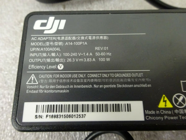 NEW DJI Inspire 1 100W Battery Charger (A14-100P1A) OEM Original DJI GENUINE