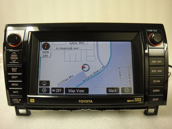 2007-2010 Toyota Tundra Sequoia OEM GPS Navigation System - JBL MP3 CD CHANGER!