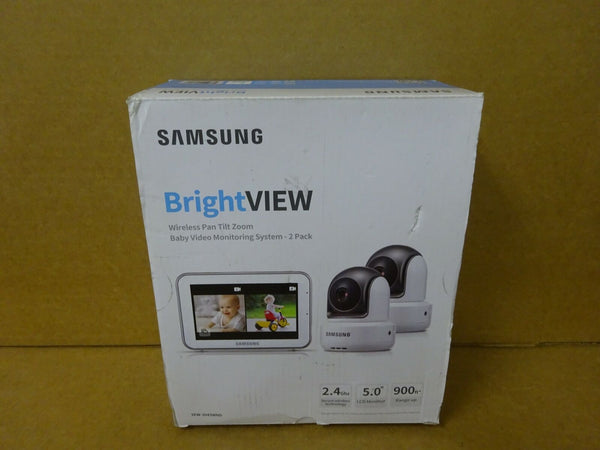 Samsung SEW-3043WND BrightVIEW Baby Monitoring System with 2 Cameras