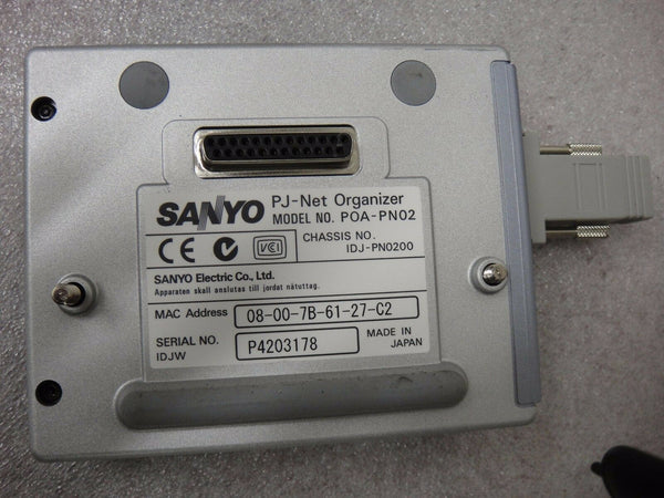 Sanyo PLC-XP55 Home Theater Projector EK Super Fast Shipping