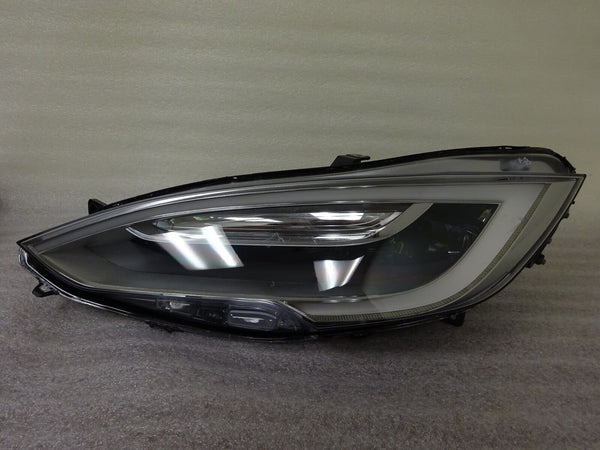 16-18 Tesla Model S Left LED LH Headlight Headlamp Facelift Complete OEM GRD C