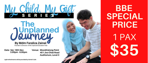 DISC RATE - My Child My Gift Series - The Unplanned Journey (1pax)