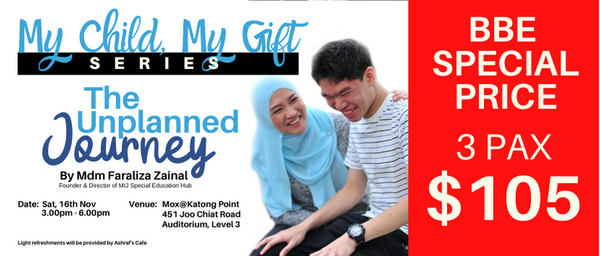 DISC RATE - My Child My Gift Series - The Unplanned Journey (3pax)