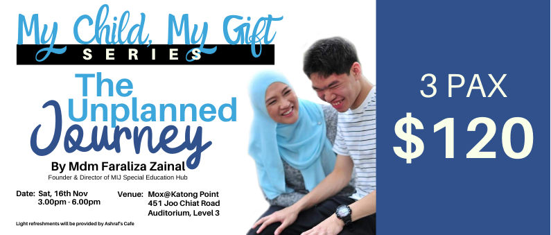 My Child My Gift Series - The Unplanned Journey (3pax)