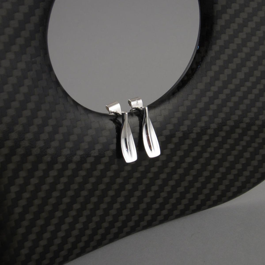 RE01 Spoon Oar Stud Rowing Earrings