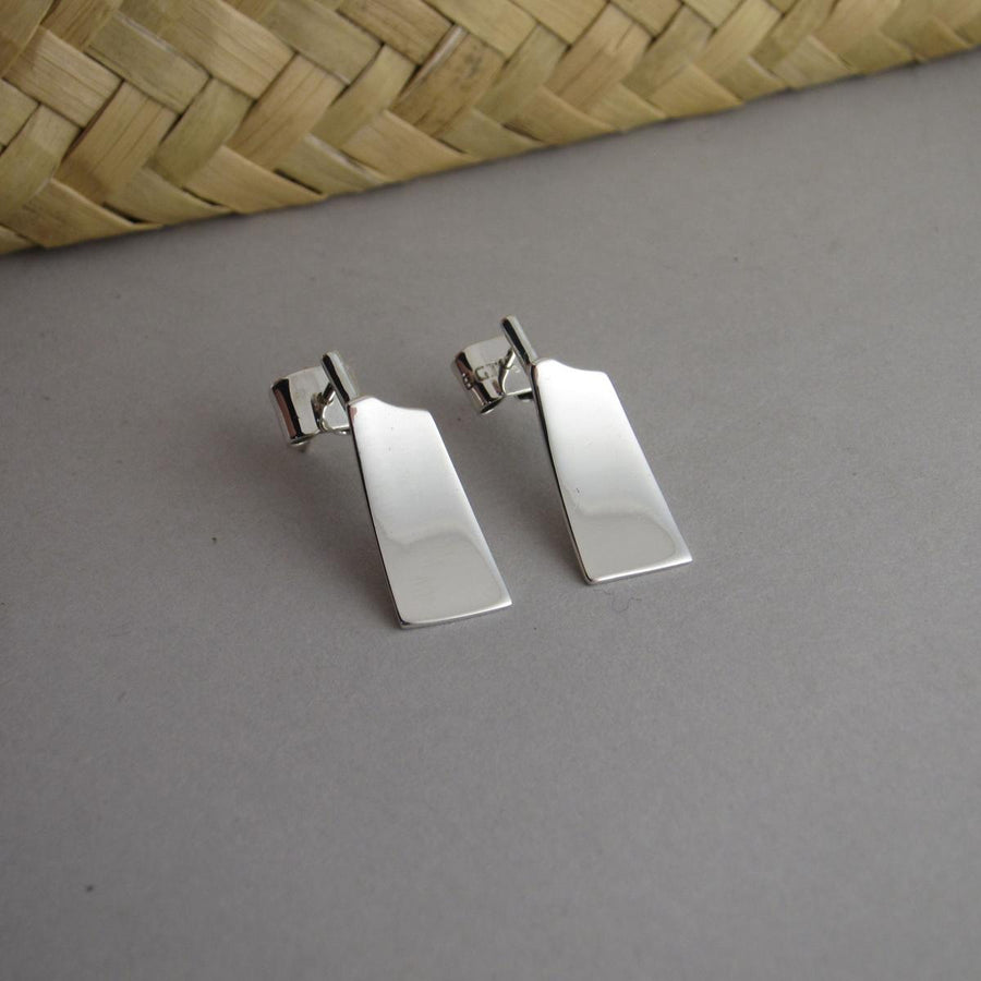 RE05 Blade Oar Stud Rowing Earrings