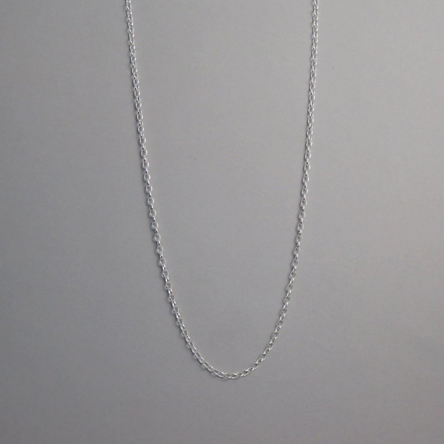 2.5mm Silver Belcher Necklace