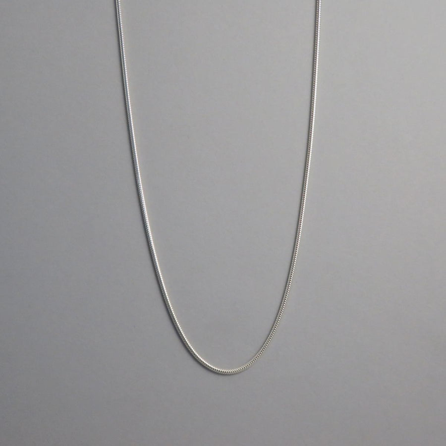2.0mm Silver Snake Chain Necklace