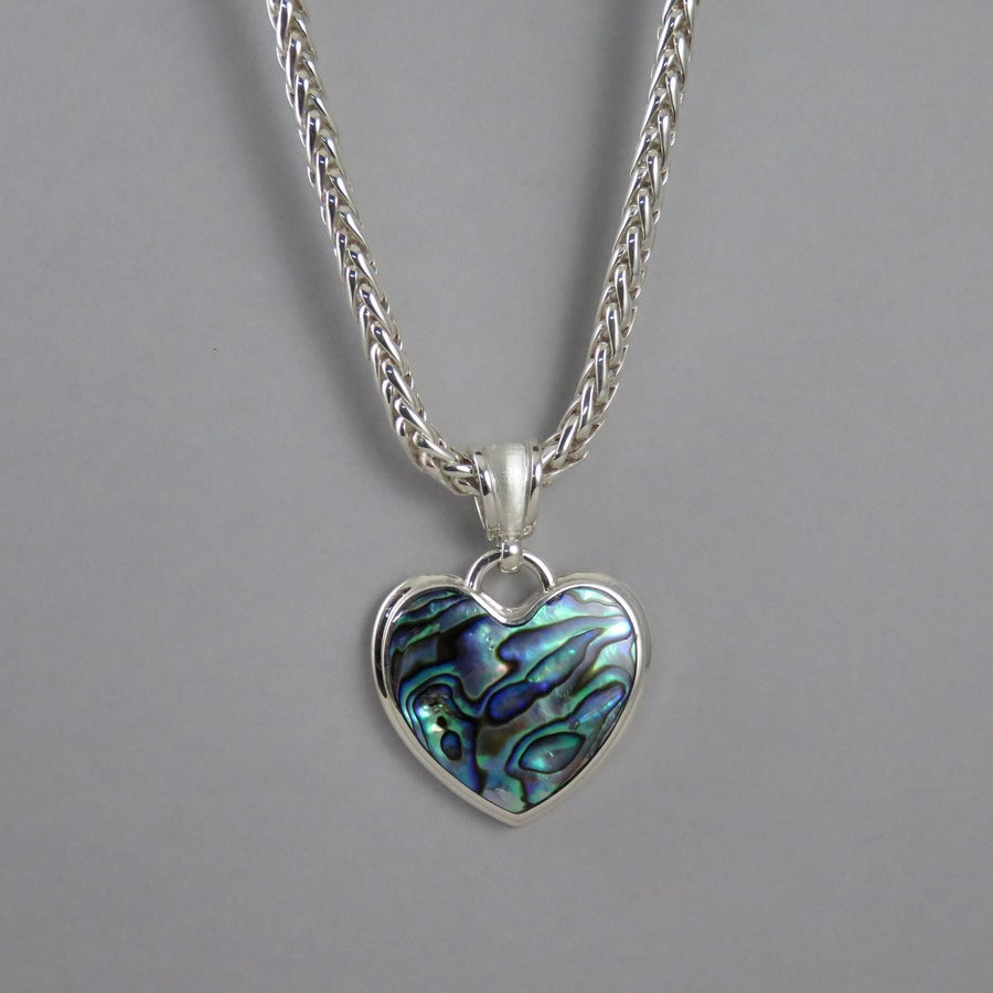 SP1090 One-Off Silver Paua Pendant