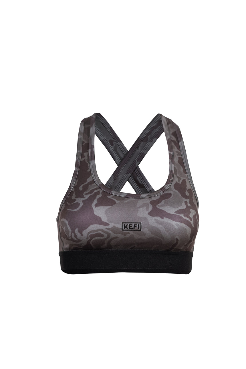 Power Bra II | Green Camo