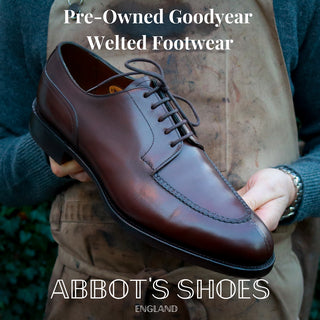 Abbots Shoes Pre Owned Goodyear Welted Shoes