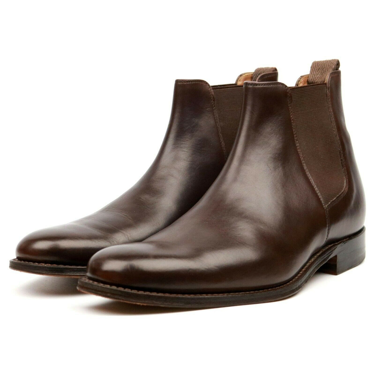 Grenson 'Declan' Brown Leather Chelsea Boots UK 7 F