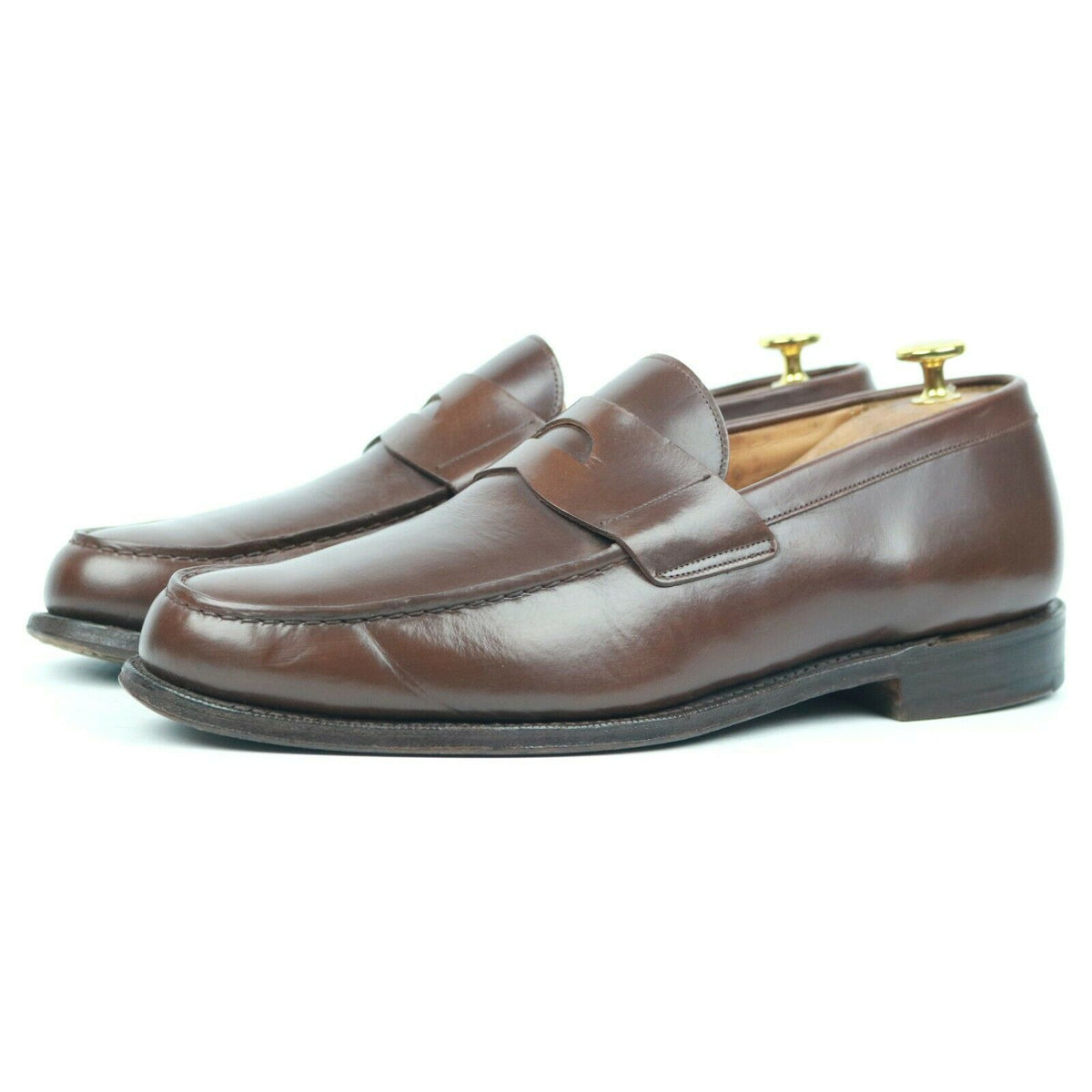 Church's 'Bristol' Brown Leather Loafers UK 9 F