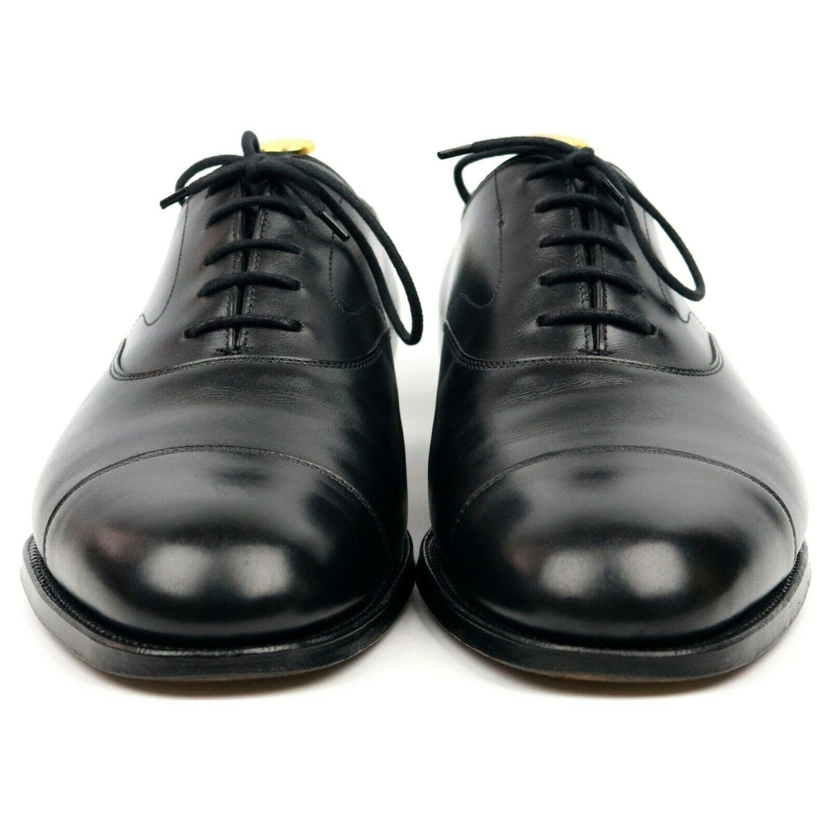 Edward Green 'Chelsea' Black Leather Oxford UK 9 E