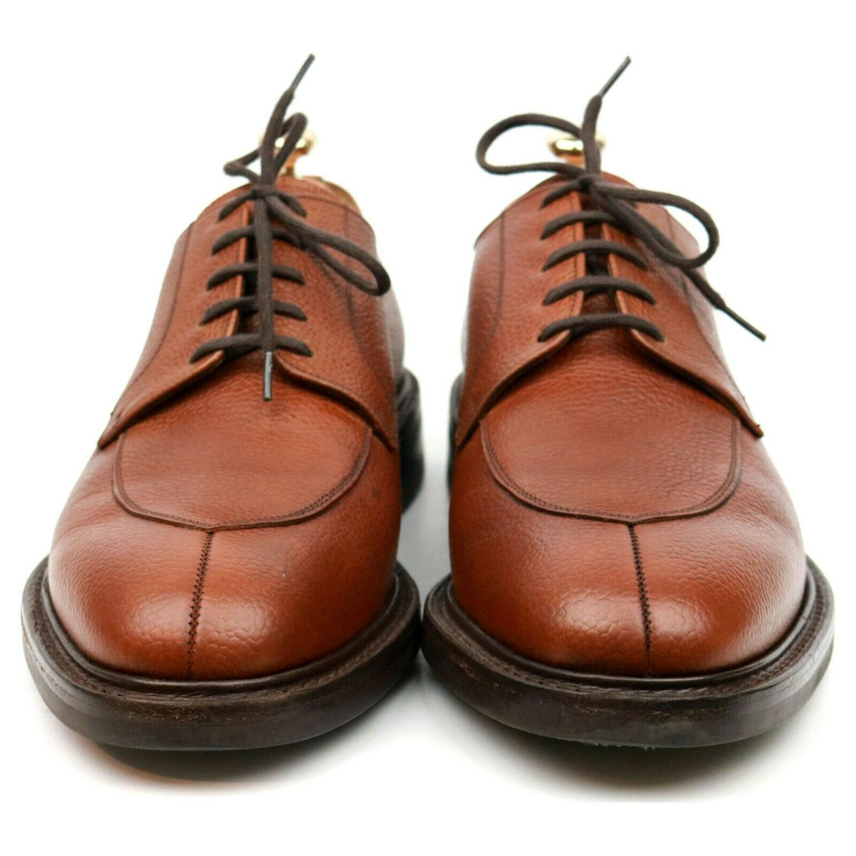 Church's 'Northwood' Tan Brown Leather Split Toe Derby UK 8 F