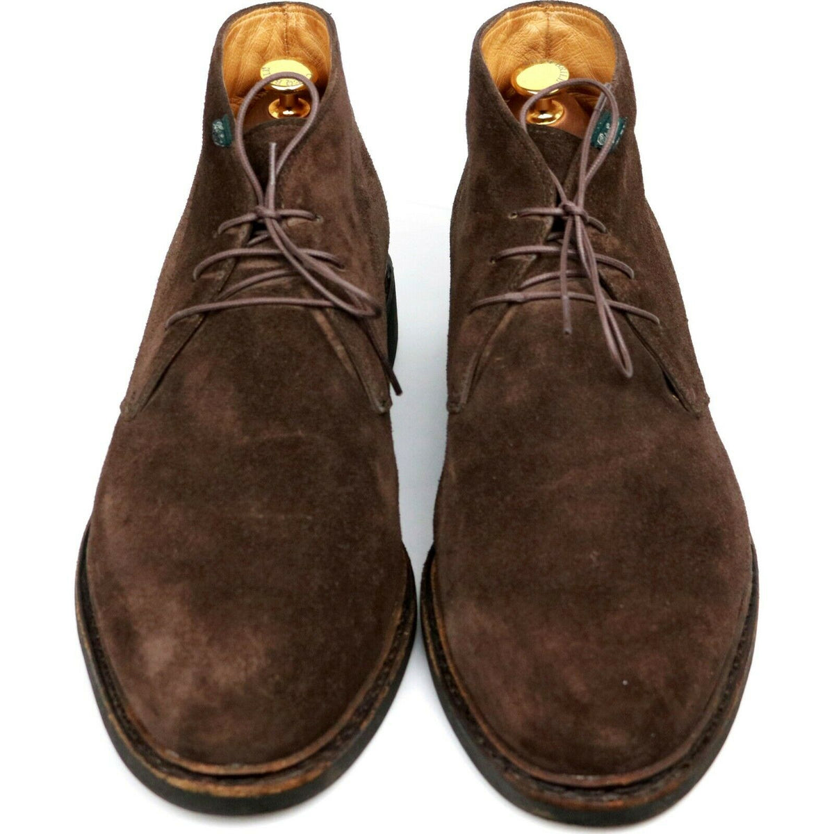 Paraboot Brown Suede Chukka Boots UK 10.5